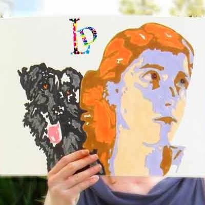 Autoportrait LD Créa, illustration